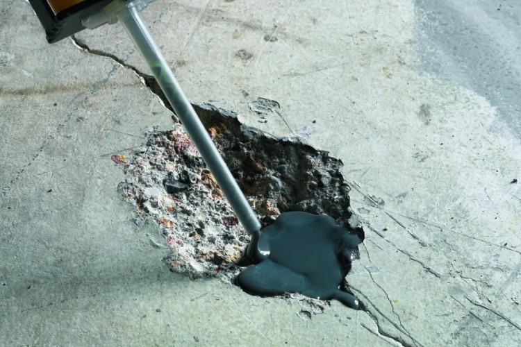Трещины в бетоне: причины появления и устранение