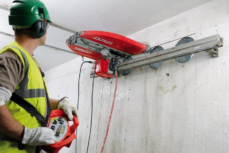 Алмазная резка бетона: методы и оборудование